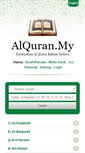 Mobile Preview of alquran.my
