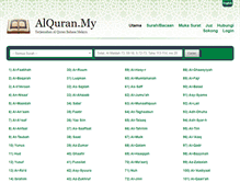 Tablet Preview of alquran.my